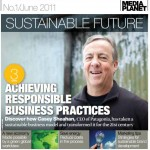 Sustainable Business Report USA Today Cover